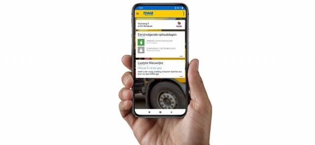 App in hand