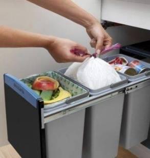 Afvalscheiding keuken